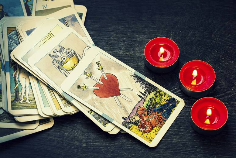 £6 for a tarot card reading via email with one question, or £9 with two questions from Extreme Relaxation - save up to 60%