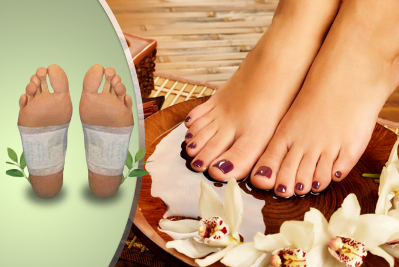 £16 instead of £51.90 (from SalonBoxed) for a 16-day bamboo vinegar foot detox kit inc. 32 patches - save 69%
