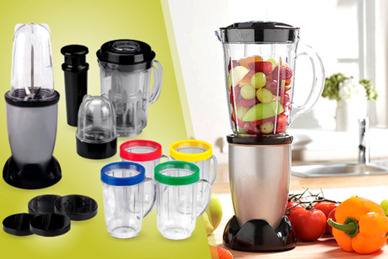 £19.99 instead of £59.99 (from Web 18) for a 17-piece party blender for soups, smoothies, pasta sauces and more - save 67%