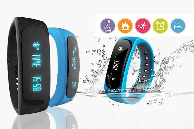 £12.99 instead of £145 (from TLD:Retail) for a 12-in-1 Bluetooth fitness tracker - choose from black and blue and save 91%