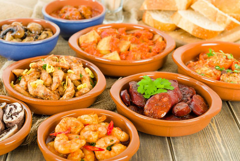 £12 instead of £25.90 for a tapas dining experience for two at Mi Casa, Glasgow - have yourself a fiesta and save up to 54%
