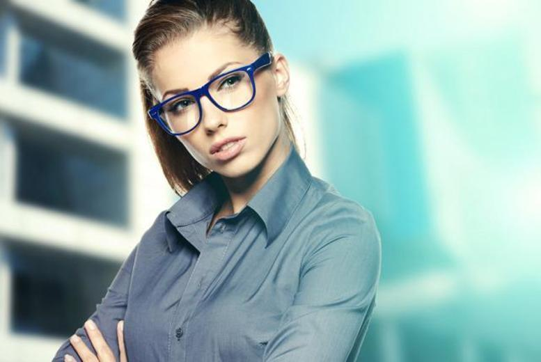 £19 for an eye test and two pairs of glasses, £25 with two pairs of tinted glasses or £39 with one pair of designer glasses at The Spectacle Store - save up to 37%