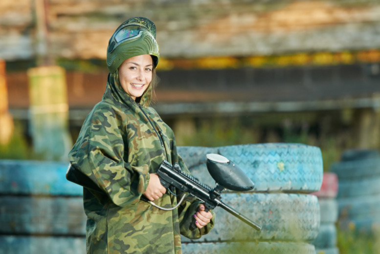 £14 for a boot camp challenge & paintball inc. 100 balls & bbq lunch for 1, £24 for 2 people at NPF Bassetts Pole, Sutton Coldfield - save up to 67%