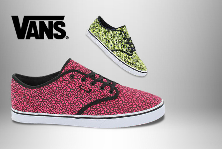 £25 instead of £45 (from Urban Branded Clothing & Footwear) for a pair of Vans trainers in neon yellow or pink leopard print - save 44%