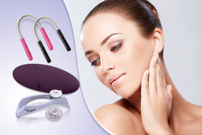 £12 instead of £49.99 (from Quick Style) for a Slique home threading system inc. 2 facial threading tools - save 76%