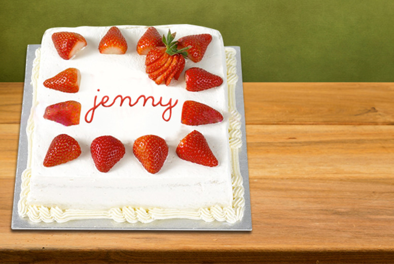 £12 instead of £29.99 for a personalised, hand made cake delivered to your door from Cakes Today, London - save 60%