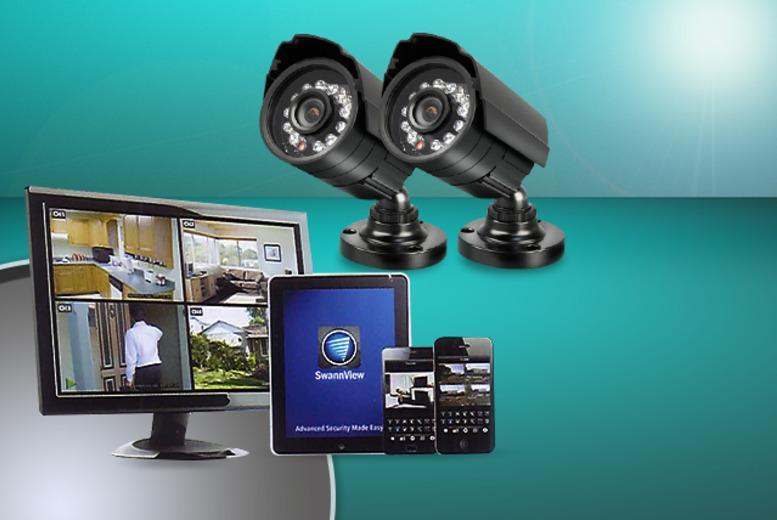 £129 for a refurbished Swann SWDVK-414002F Camera Security System from Wowcher Direct + DELIVERY IS INCLUDED!