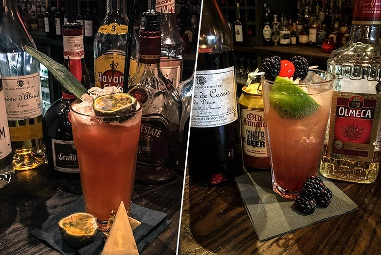 £14 instead of up to £29 for four cocktails to share between two people at Cubana's Live Music Cocktail Lounge (upstairs) Sheffield – sip and save up to 52%