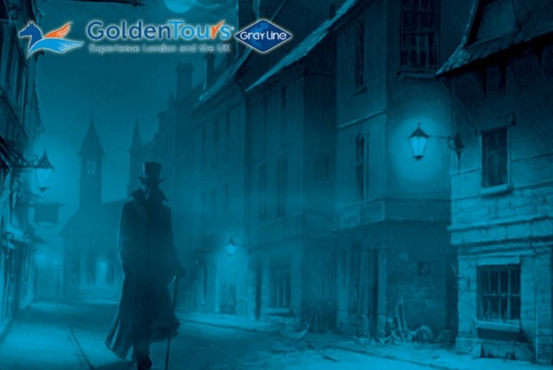 £5 instead of £10 for a 1½-hour Jack the Ripper tour of London with Golden Tours - save a spine-chilling 50%
