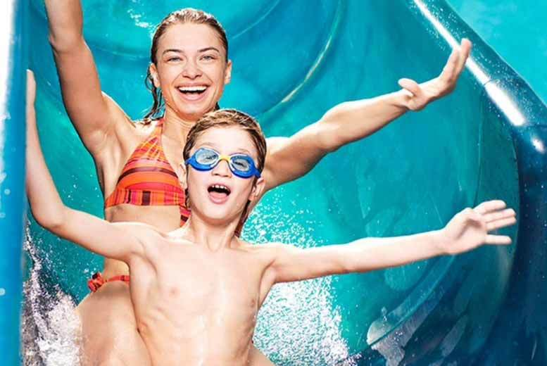 £9.35 instead of £12.49 for aqua park entry for one adult, £32.95 for a family of four or £42 for a family of five at WaterWorld, Stoke-on-Trent - save up to 25%