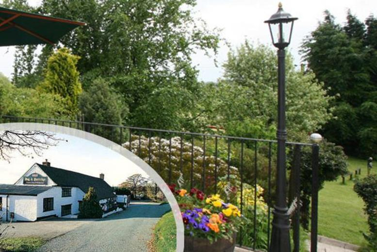 £65 instead of up to £181.20 (at the Dog & Partridge Country Inn) for a 1nt stay for 2 inc. dinner & bubbly, £105 for 2nts - save up to 64%