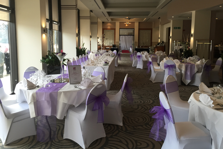 £1995 for a full wedding package for 40 daytime and 80 evening guests with food, drinks, entertainment, venues and more at the Copthorne Hotel, Newcastle - save 50%