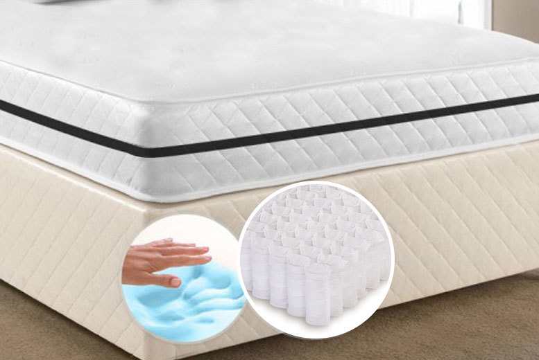 Luxury Cool Fusion Extra Deep Memory Pocket Sprung Mattress