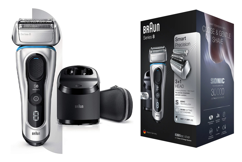 Braun Series 8 8390cc Wet and Dry Electric Shaver