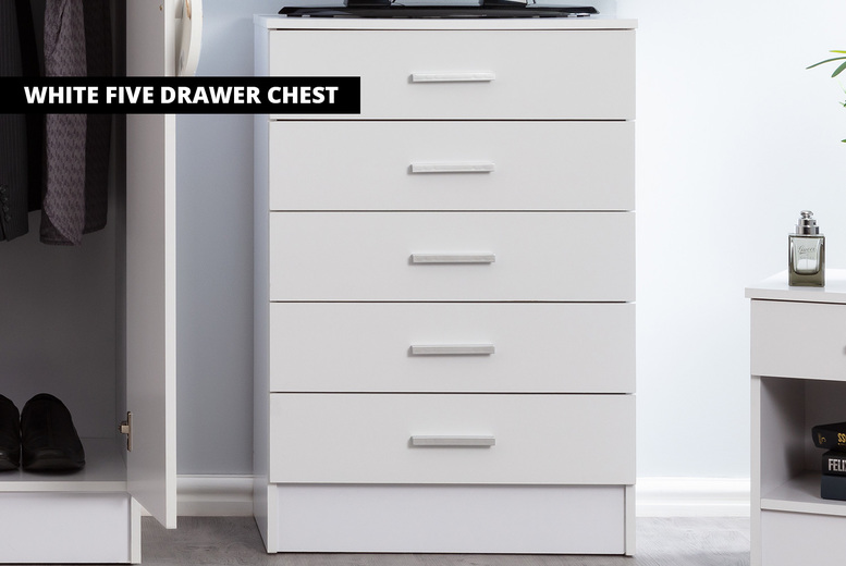 Bordeaux Bedroom Collection Offer, White Gloss Bedroom Furniture Nz