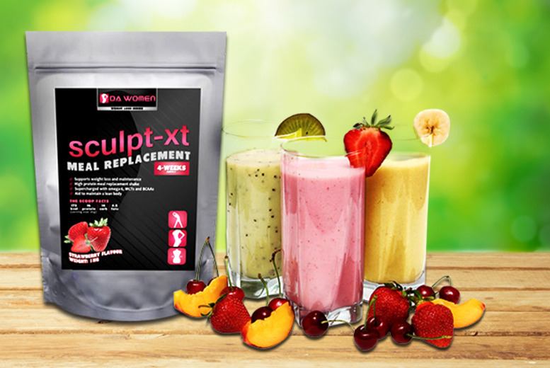 £34 instead of £99.98 (from Lactose Free Supplements) for a 2-month* supply of SCULPT-XT flavoured meal replacement shakes - save 66%