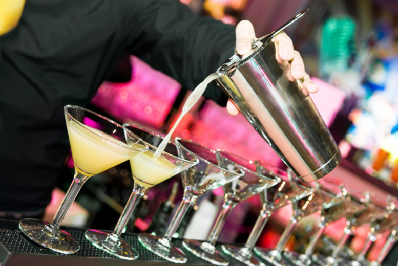 £15 for a 1-hour cocktail masterclass including 3 drinks & nibbles at The Bankers Club, Leicester