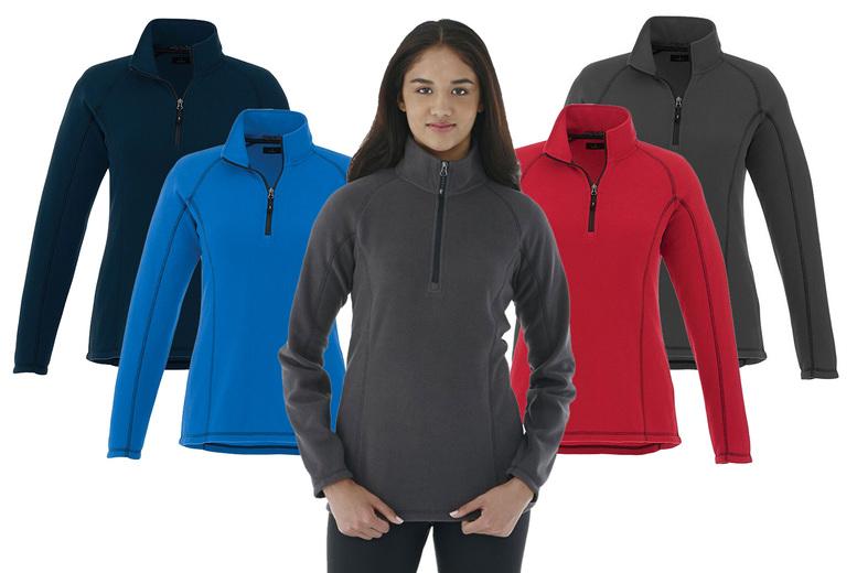 Ladies' Quarter-Zip Polyfleece - 4 Colours!