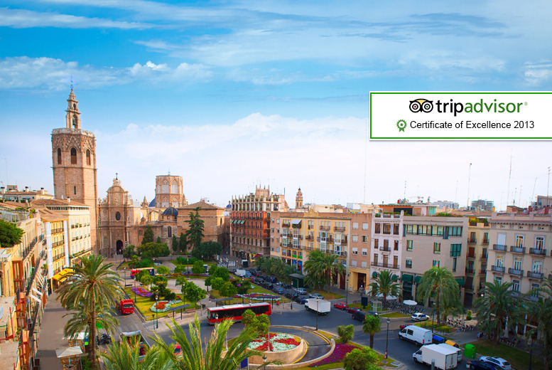 From £109pp instead of up to £187.48pp (from WorldBound) for a 2nt Valencia break inc. flights & breakfast, from £159pp for 3nts - save up to 42%