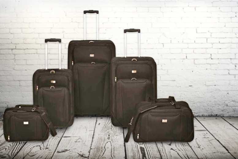 £80 instead of £197.91 (from Wowcher Direct) for a 5 piece family luggage set - save 60%