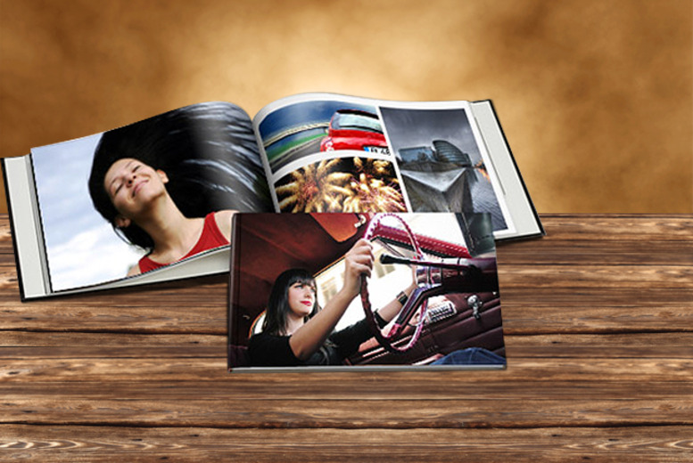 £9.99 instead of £28.88 (from Bonusprint) for a 30-page photo book with a personalised photo cover or £15.99 for a 60-page book - save up to 65%
