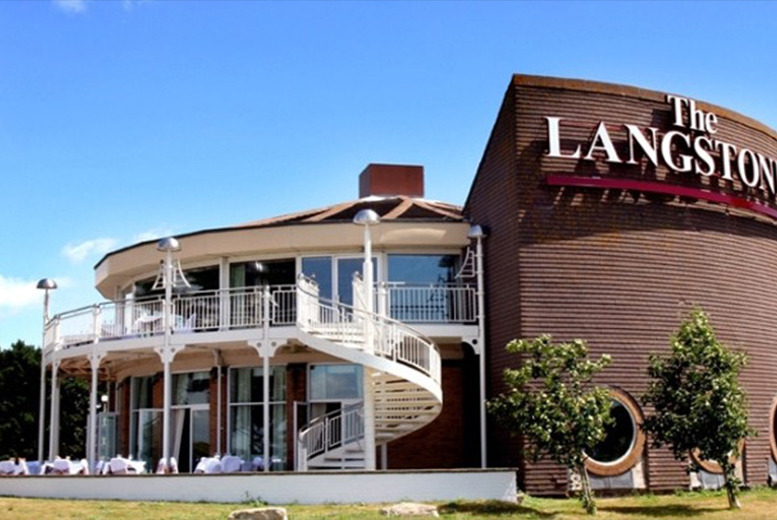 £69 (at The Langstone Hotel, Hayling Island) for a murder mystery dinner for 2, £135 to include a 1-night stay and breakfast - save up to 42%