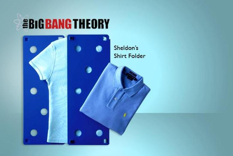 £10 instead of £30.99 (from London Exchainstore) for Sheldon's shirt folder as seen on <i>The Big Bang Theory</i> - save 68%