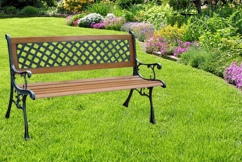 £39 instead of £125 (from Groundlevel.co.uk) for a 2-person garden bench - save 69%