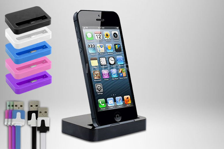 £6.99 (from Links 4) for an iPhone dock charging station, or £8.99 inc. 1-metre charge and sync cable - save up to 65% + DELIVERY INCLUDED!