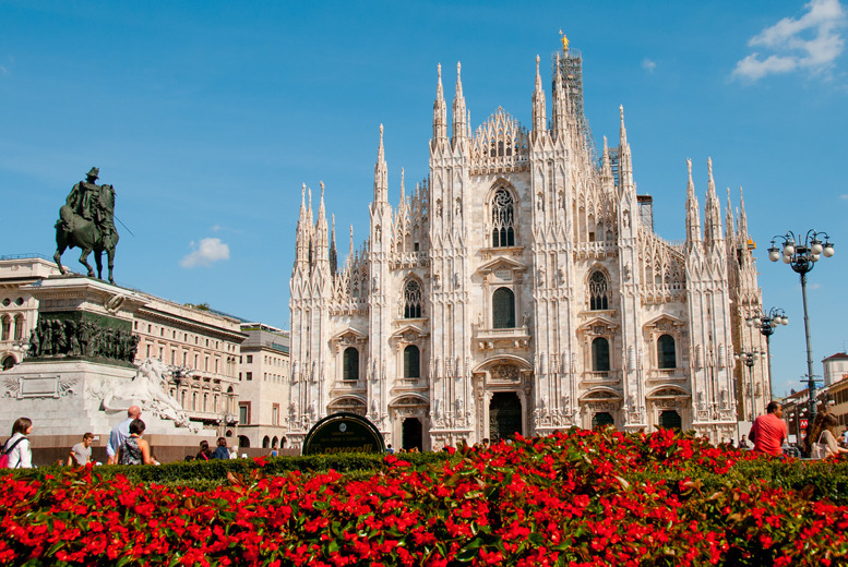 From £99pp instead of up to £181.62pp (from Airbridge Travel) for a 2-nt Milan break for 2 inc. flights, from £139pp for 3nts - save up to 45%