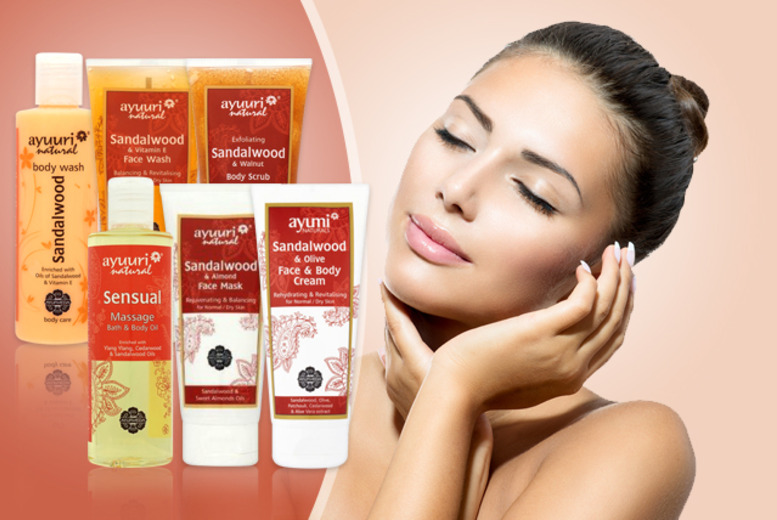 £14.99 instead of £37.08 (from Ayuuri) for a Mother's Day sandalwood pamper collection - save an indulgent 60%