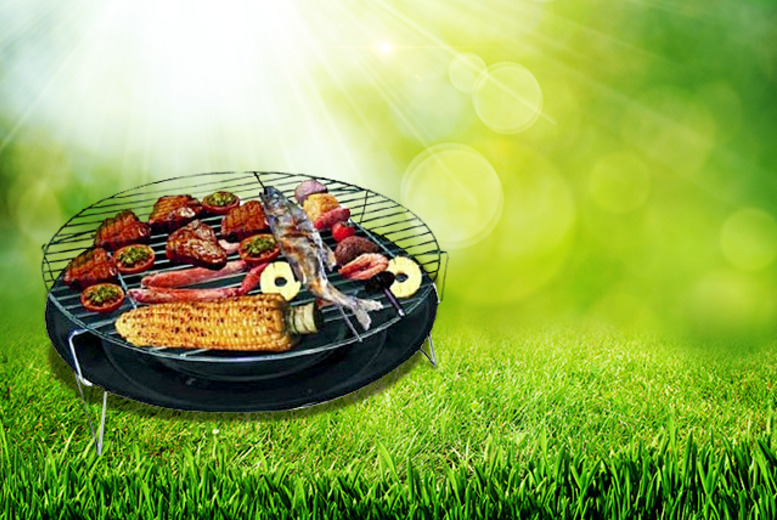 "£9 instead of £24.99 (from Groundlevel) for a 13"" table top BBQ, £13 for a 14"" BBQ - sizzle this summer and save up to 64%"