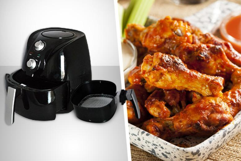 £49.99 instead of £149.99 (from Pamper Me Store) for a black air fryer - save 67%