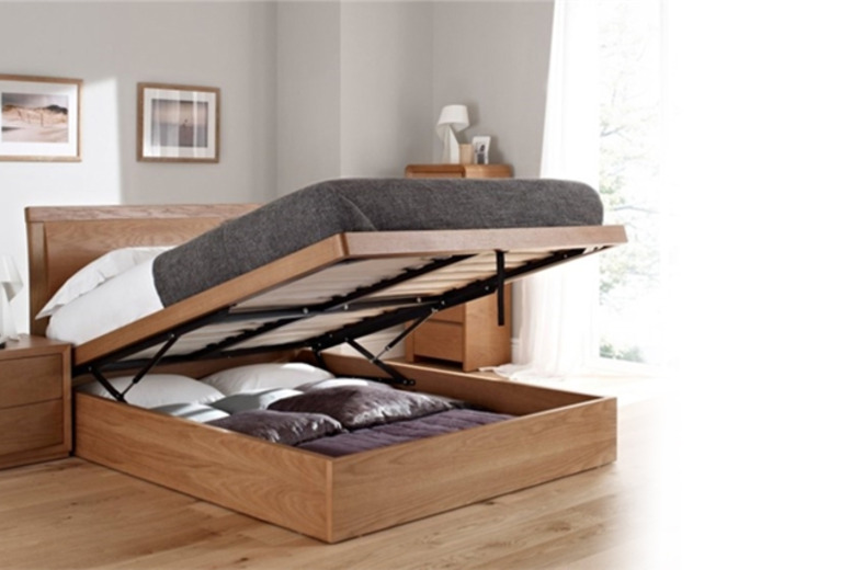 £199 instead of £499 (from Mattress Shed) for a double oak ottoman storage bed, or £239 for a king size - save up to 60%
