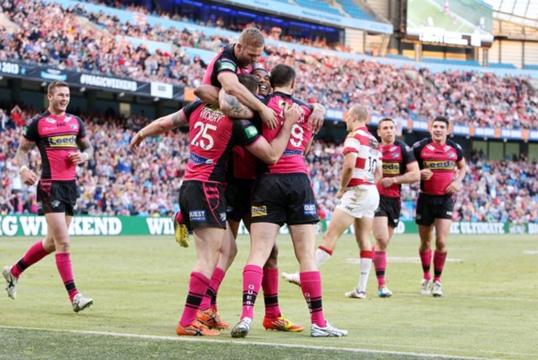 £20 for a ticket to the Rugby Super League Magic Weekend @ Etihad Stadium, Manchester