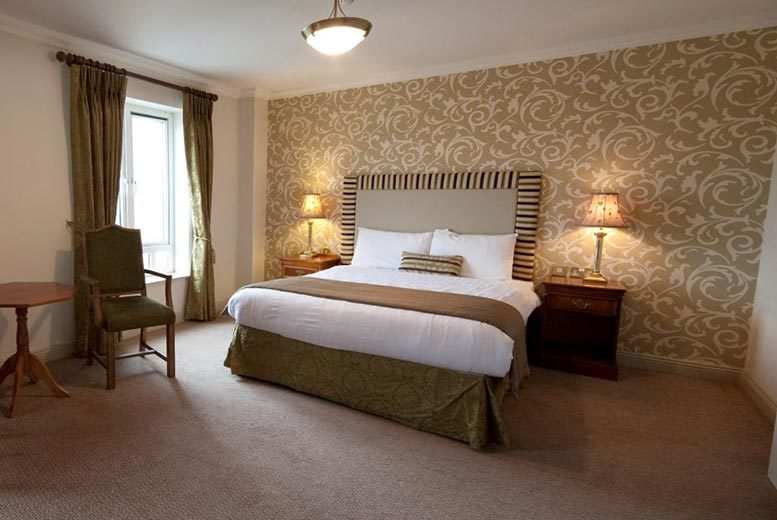 £75 for an overnight stay for two with breakfast and a three-course meal, £109 for two nights at the Bracken Court Hotel, Balbriggan - save up to 58%