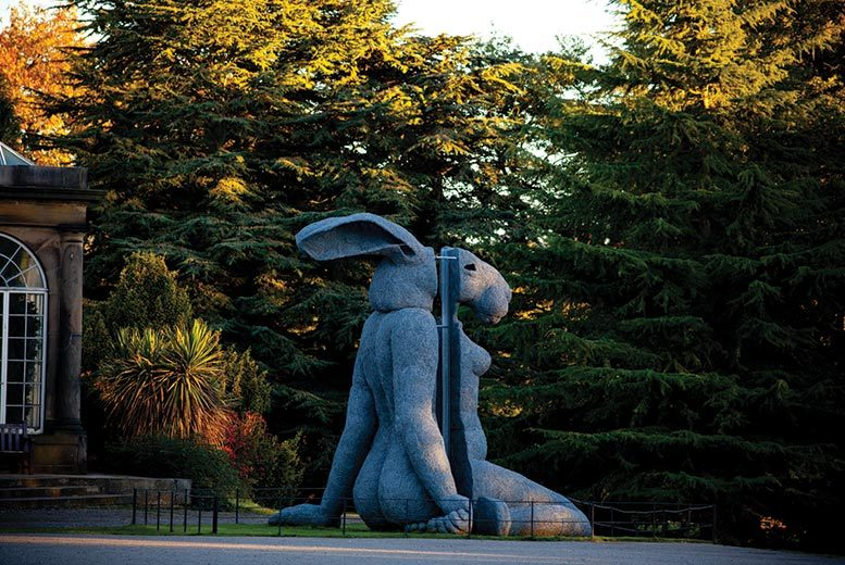 £16 instead of £28.80 for brunch and hot drinks for two people including all-day parking at Yorkshire Sculpture Park, Wakefield - save a spectacular 44%
