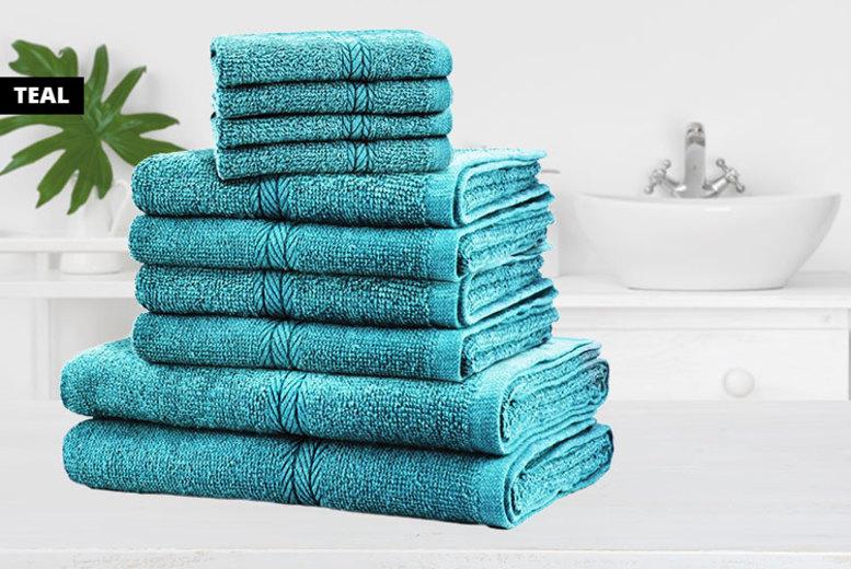 10pc Towel Bale - 12 Colours!