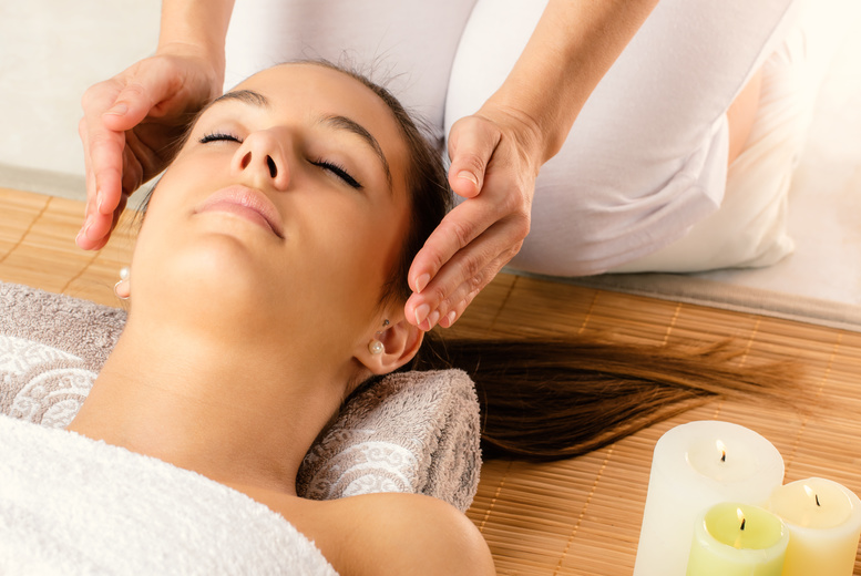 £19 for a 90-minute pamper package including arm, leg and facial massage infused with Reiki healing at Reiki Relaxation and Holistic Massage, Liverpool - save 78%