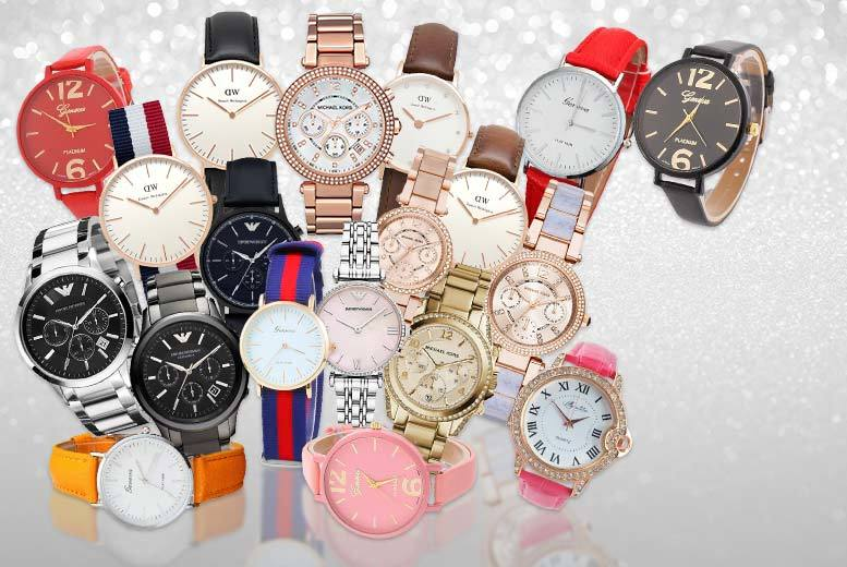 £10 (from Jacob Ekland) for a Mystery Watch Deal for him or her - get a simply stunning Micheal Kors, Emporio Armani, Daniel Wellington, Lily Mae and more!