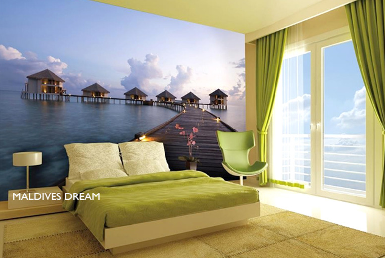 £29.99 instead of £49.99 for a giant scenic wall mural in a choice of 10 designs from Wowcher Direct - save 40% + DELIVERY IS INCLUDED!