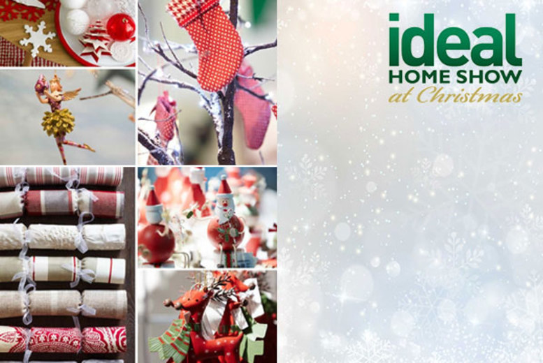 £13.50 instead of £30.50 for two tickets to the Ideal Home Show at Christmas plus Ideal Home Magazine at Event City, Manchester - save 56%