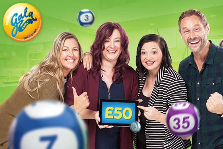 £2 for a £45 Gala Bingo credit to spend online at GalaBingo.com - save 96%