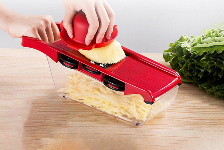 £12.99 instead of £37 (from Arther Gold) for a six-blade mandoline fruit and vegetable slicer - save 65%