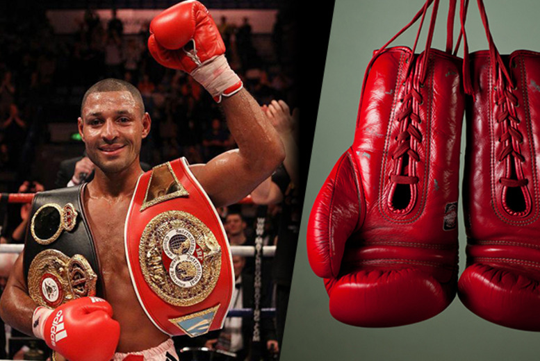 £34 for a 'Silver' ticket to an evening with professional boxer Kell Brook on 21st March at the DoubleTree Hilton, Sheffield - save 51%