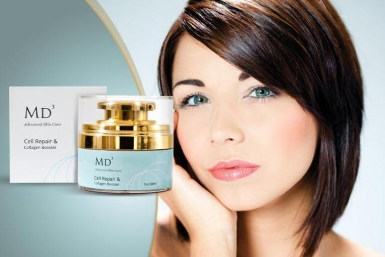 £19 instead of £89.99 (from Look Good Feel Fabulous) for a 30ml bottle of MD3 'Cell Repair & Collagen Boosting' Serum - save 79% + delivery included