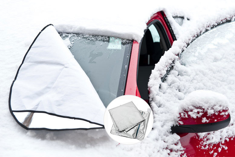 £4.99 instead of £19.99 (from Bargain Shop London) for a magnetic windscreen cover - fight the frost and save 75%