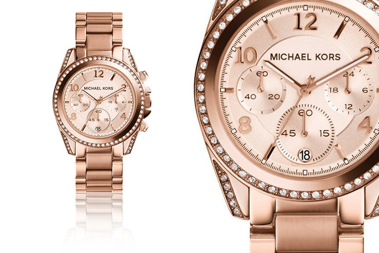 £109 instead of £222.01 (from Jacob Ekland) for a ladies' Michael Kors MK5263 watch, with a limited number available for just £79 - treat your wrist and save up to 64%