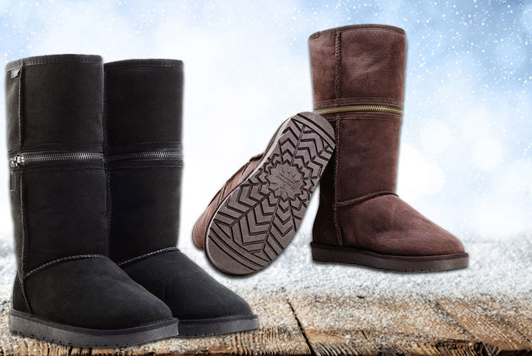 £49 instead of £150 (from Redfoot) for a pair of women's Zippy boots - choose from black or brown and save 67%