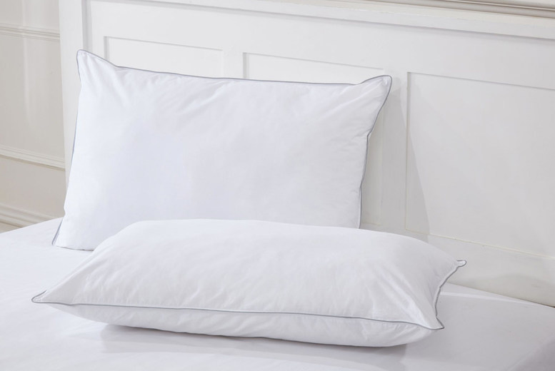 £14 (from Cascade Home) for a pair of luxury like down pillows